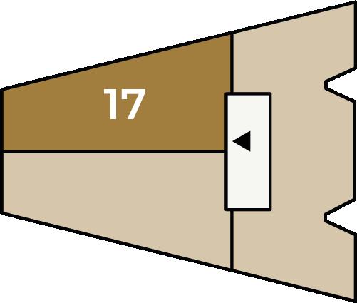 Verdiepingsoverzicht bouwnummer 17
